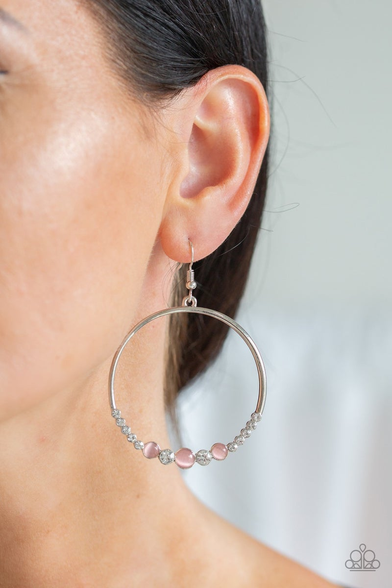 Iridescently Irresistible, Dancing Radiance and Optimal Opalescence -3 pc Pink Moonstone Set