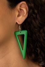 Bermuda Backpacker - Green Earrings