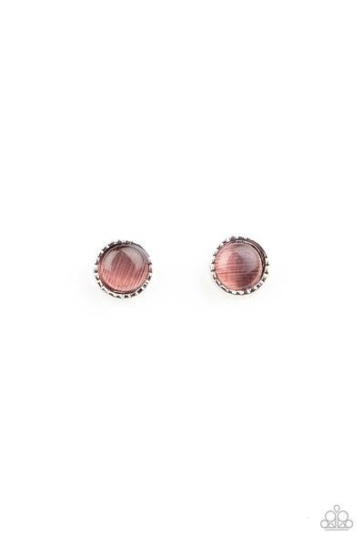 Kid's Moonstone Stud Earrings