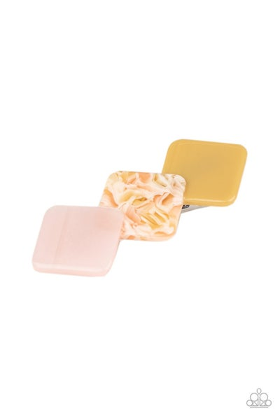 Ill Take It From HAIR  Multicolored Shell-Like Hair Clip