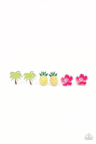 Tropical Themed Kids Earrings