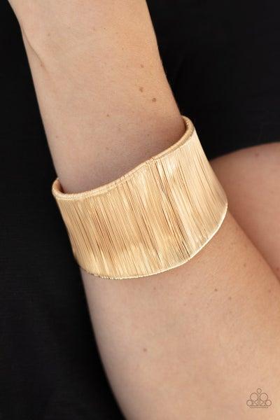 Hot Wired Wonder - Golf wire mess Cuff Bracelet