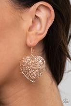 Let Your Heart Grow - Rose Gold Earrings