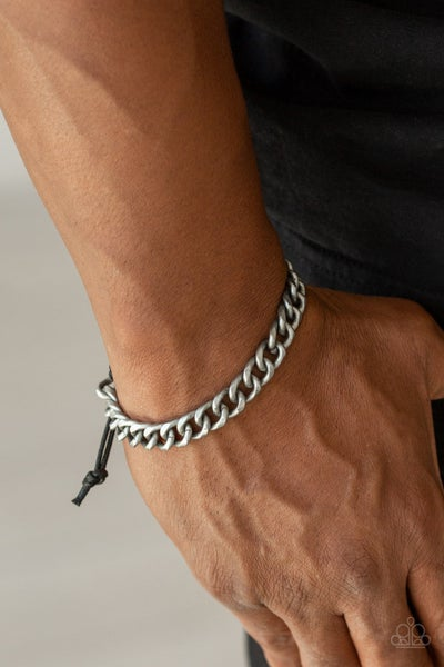 Pre-Sale Blitz - Silver Cable Chain with slip knot/pull-tight Bracelet