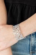 Victorian Gardens - White Bracelet