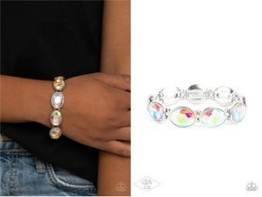 Diva in Disguise (multi)  & Celestial Couture (Pink) Bling Stack Bracelets