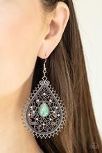 Eden Glow - Green Earrings