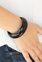 Whimsically Woodsy - Black Bracelet