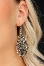 Start With A Bang - Silver Earrings