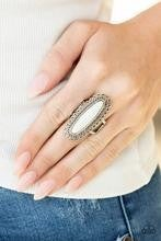 Mystical Mecca - White Ring