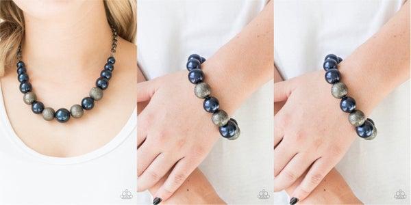 Color Me CEO -Necklace & Earrings & 2 Humble Hustle -Bracelets