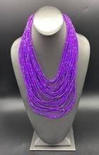 Rio Rainforest Purple Necklace Set