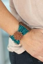 Tropical Sanctuary - Blue Bracelet