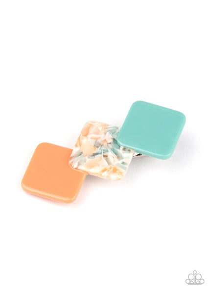 I'll Take It From HAIR - Multi Color Acrylic Hair Clip