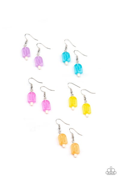 Assorted Colored Popsicle Earrings for Kids or the Kid at Heart