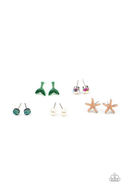 Assorted Beach or Sea themed Earrings for Kids or the Kid at Heart
