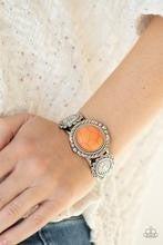 Mojave Motif - Orange Bracelet