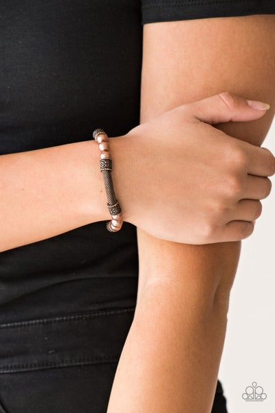 Talk Some SENSEI - Copper Mesh Bracelet