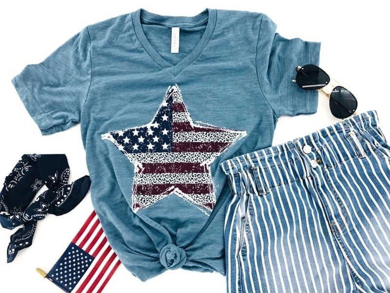 Star Spangled Beauty Top