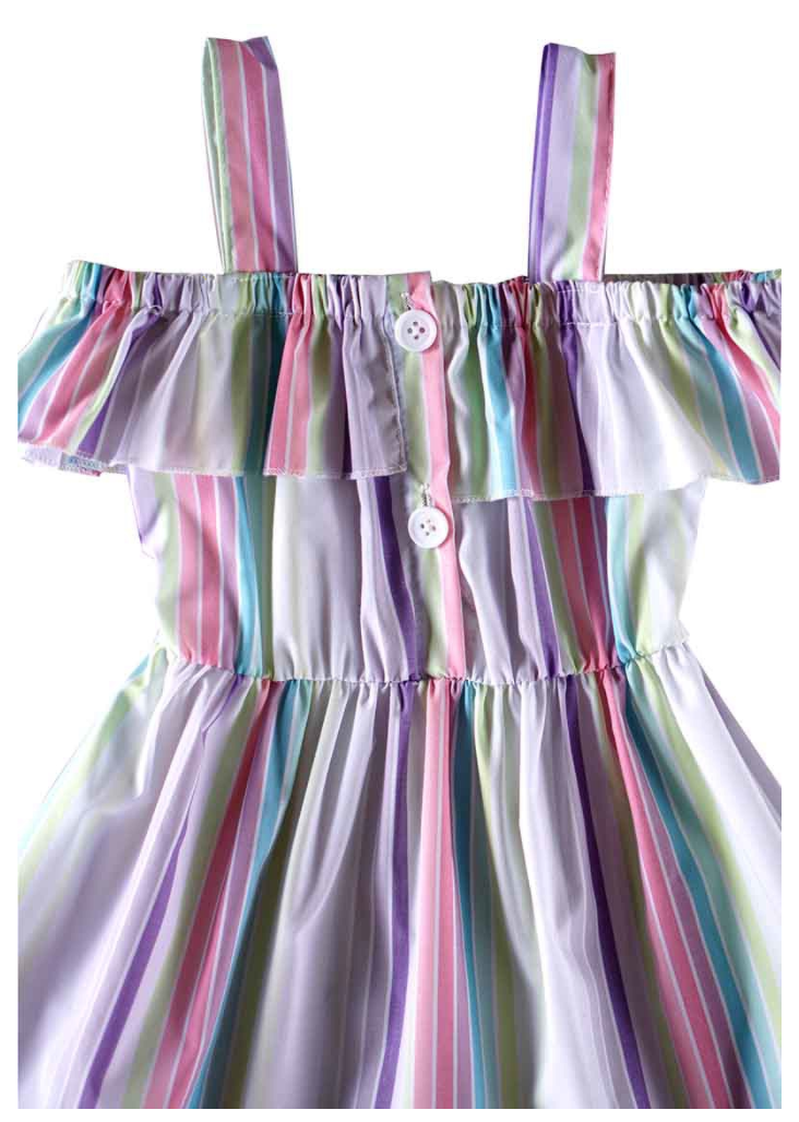 Dance Party Striped Dress