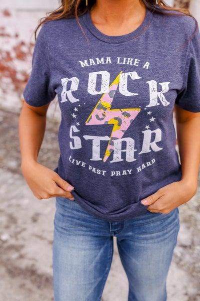 Mama Like a Rock Star Top