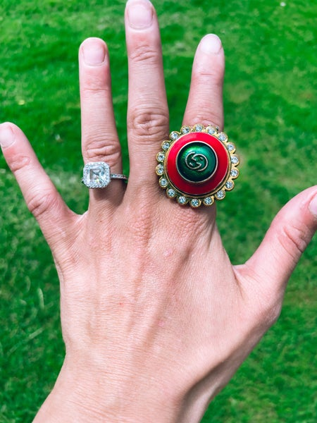 GUCCI BLING RINGS