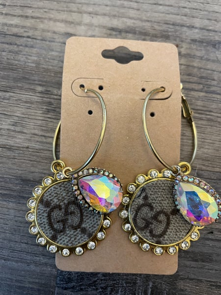 DESIGNER UPCYCLED EARRINGS