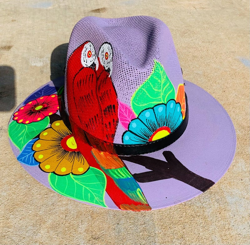 HAND PAINTED HATS: MEXICO EDITION