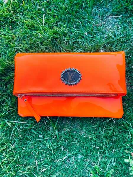 UPCYCLED NEON CLUTCH