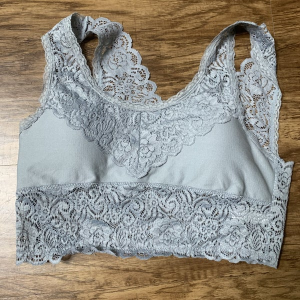 Grey Bralette *Final Sale*