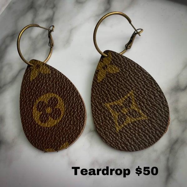 Recycled LV Certified Earrings