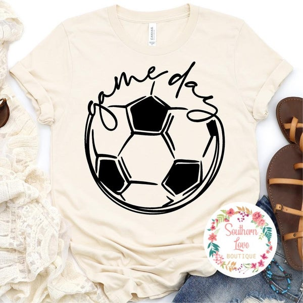 Game Day Soccer Graphic Tee Preorder