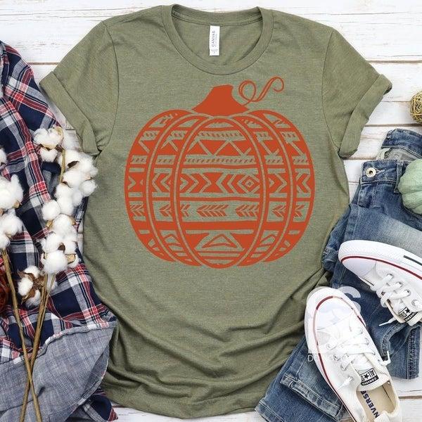 Aztec Pumpkin Graphic Tee
