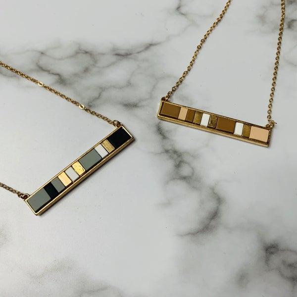 Multi Bar Necklace