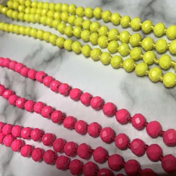 Bright Beaded Necklace *Final Sale*