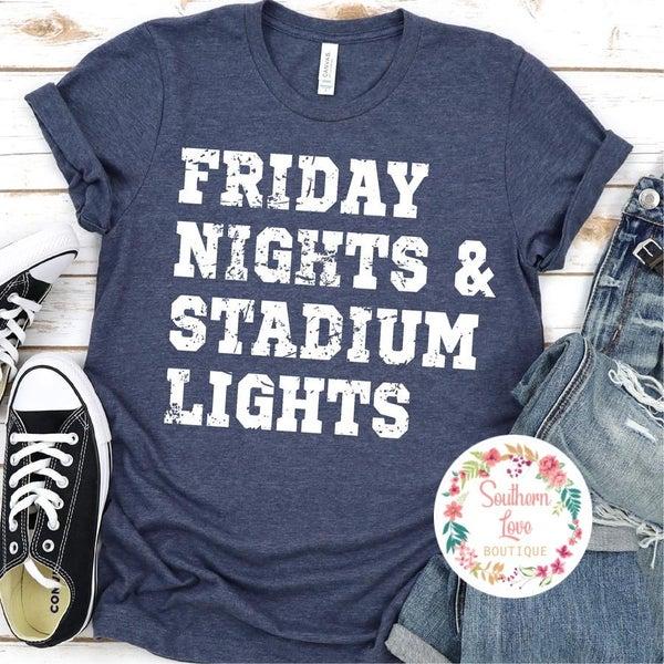"""""""Friday Nights & Stadium Lights"""" Graphic Tee Preorder"""