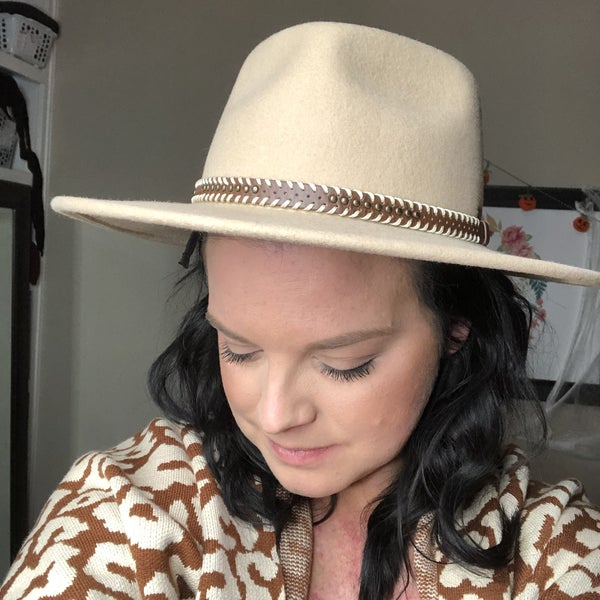 Tan Suede Hat