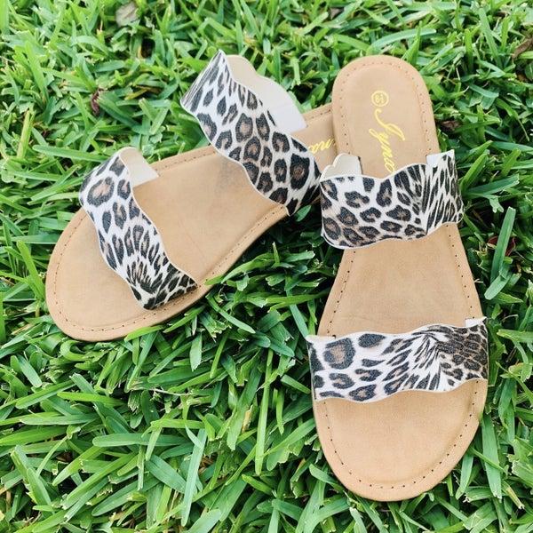 Leopard Sandals *Final Sale*