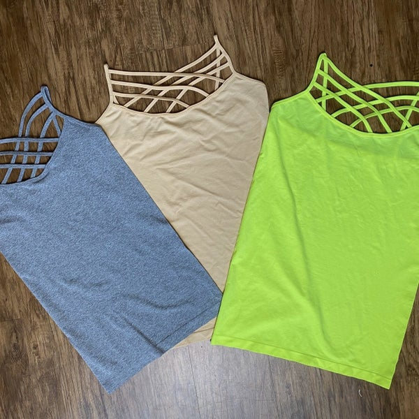 Triple Cross Cami *Final Sale*