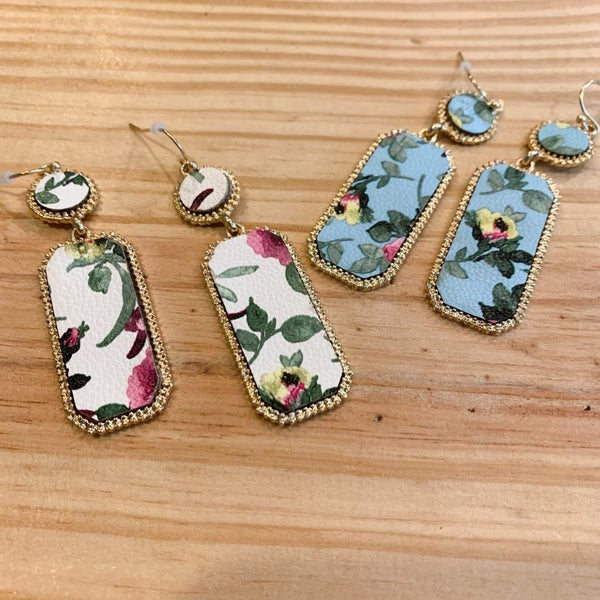Floral Earrings *Final Sale*