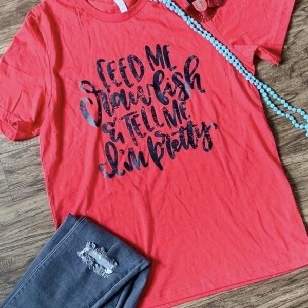Crawfish Graphic T-Shirt