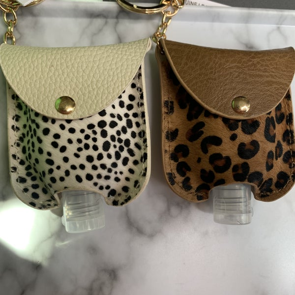 Leopard Print Sanitizer Holder