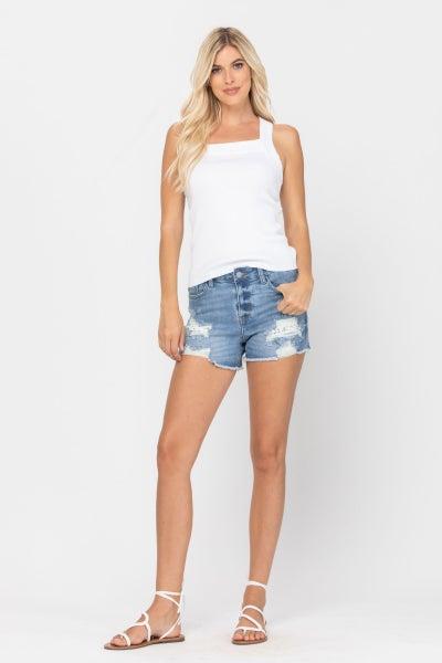 Judy Lemon Patch Shorts