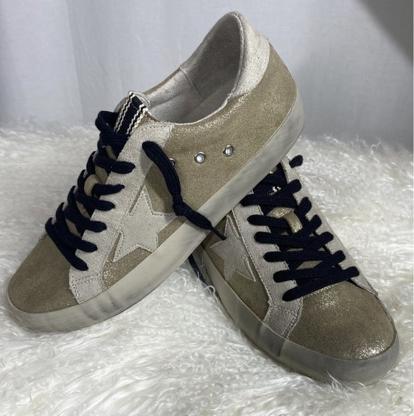 Gold Star Sneaker