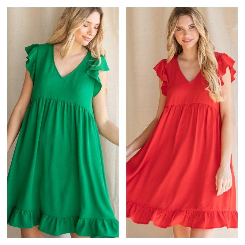 Ruffled & Sweet Dress