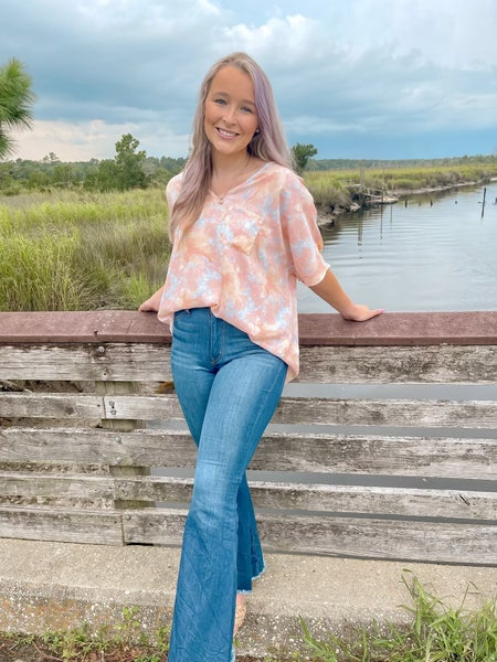 Boxy Tie Dyed Top