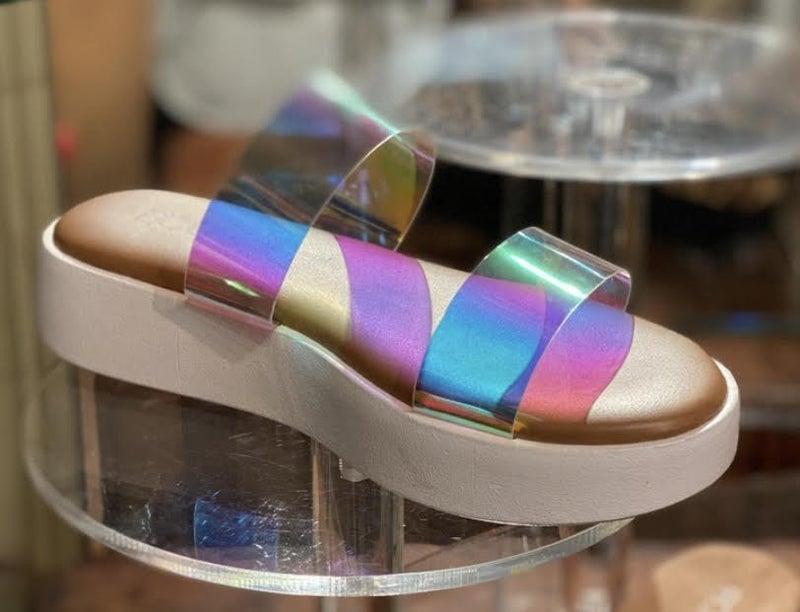 Corkys' Iridescent  Sandal *Final Sale*