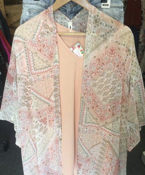 Floral Paisley Kimono *Final Sale*