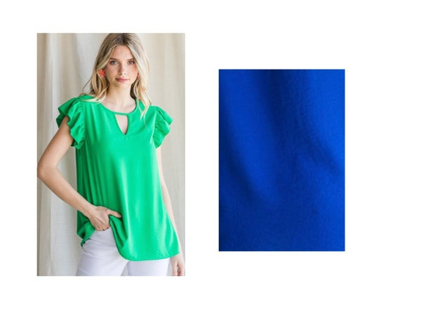 Dainty Frill Top