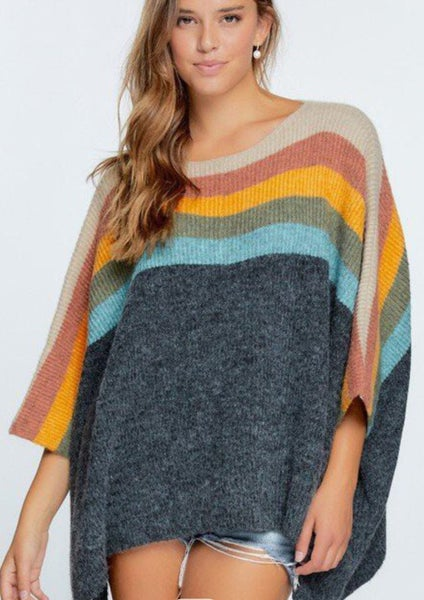 Can't Stop This Feeling  Colorblock Ponch *Final Sale*